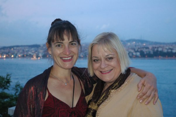 Katie and Jeanette JOY Fisher in Istabul