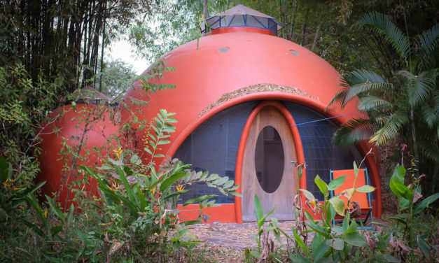 Air Crete Dome House