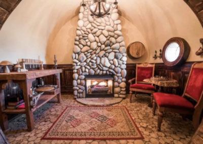 Interior Underground Tiny House