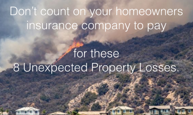 You may be surprised by these 8 losses homeowners insurance doesn't cover.